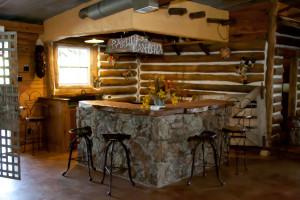 rustic indoor barn wedding venue