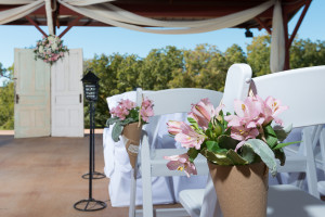 Open-Air Pavilion Wedding