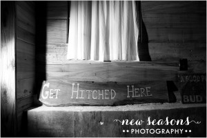 2015-01-15_0033 Get Hitched Sign