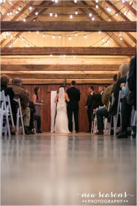 2015-01-15_0090 Couple at altar in Barn