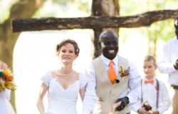 outdoor wedding ceremony in DFW