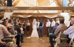 wedding ceremony Weatherford Texas