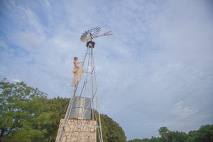 Bride on Windmill