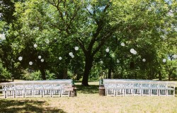 dfw outdoor wedding reception