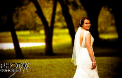 outdoor wedding reception in Fort Worth