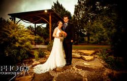 barn wedding ceremony in Fort Worth