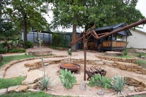 Fire Pit & Cantina Deck