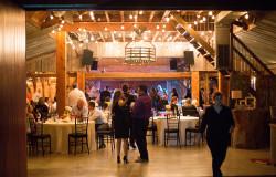 Fort Worth barn wedding reception