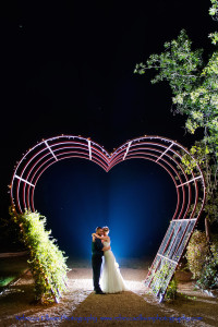 Heart Arch Wedding Venue TX