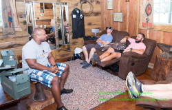 groomsmen cabin