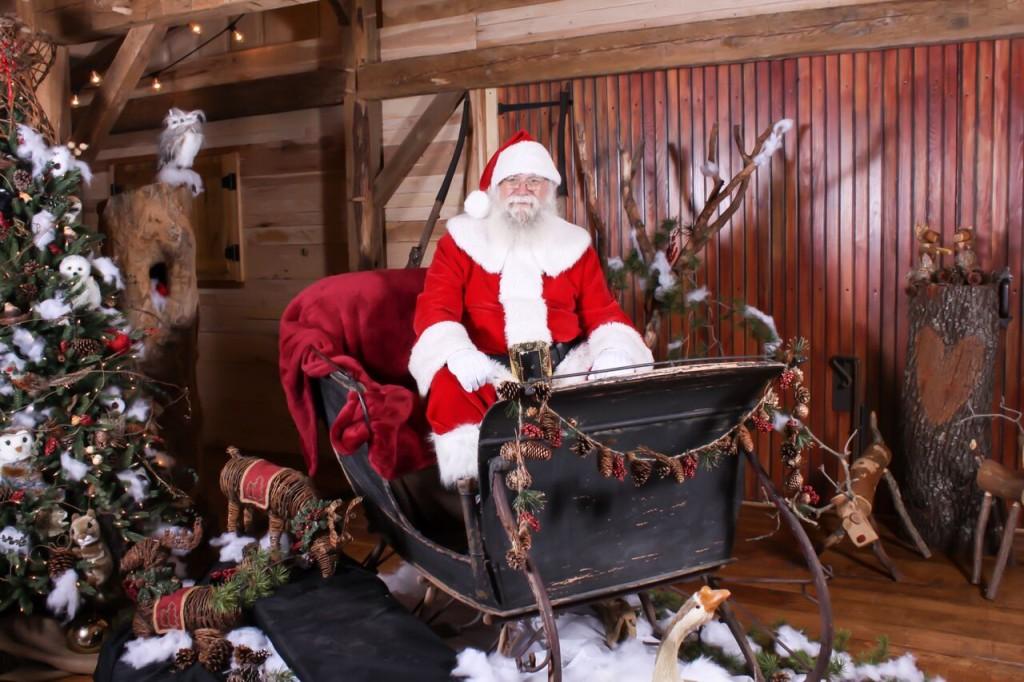 Santa in Sleigh - Bobby 01