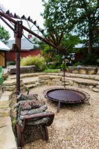 Outdoor Fire Pit in Weatherford, TX