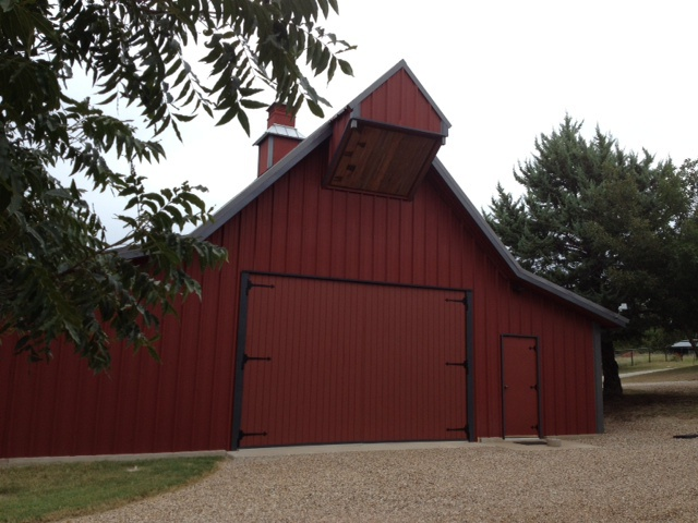 The Barn is Ready!