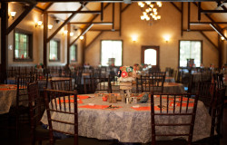 great room wedding reception hollow hill