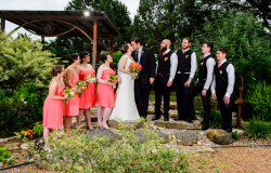 bridal and groom party