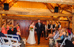 indoor wedding ceremony picture