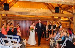 indoor wedding ceremony picture