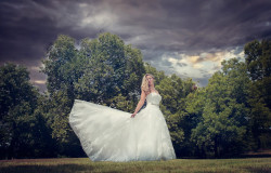 beautiful bridal photo fort worth
