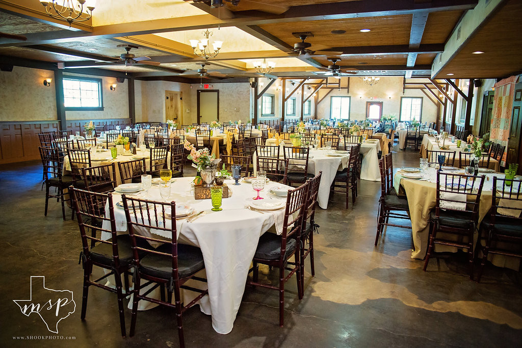 The Great Room at Hollow Hill has plenty of room for your wedding reception