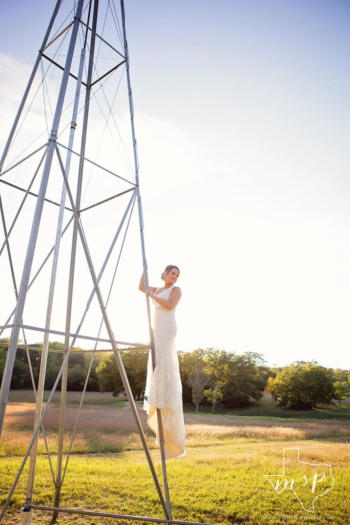 Windmill wedding dress