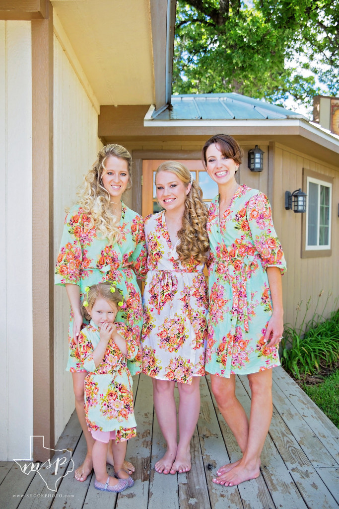 The Hen House boasts a wrap-around porch for the bridal party