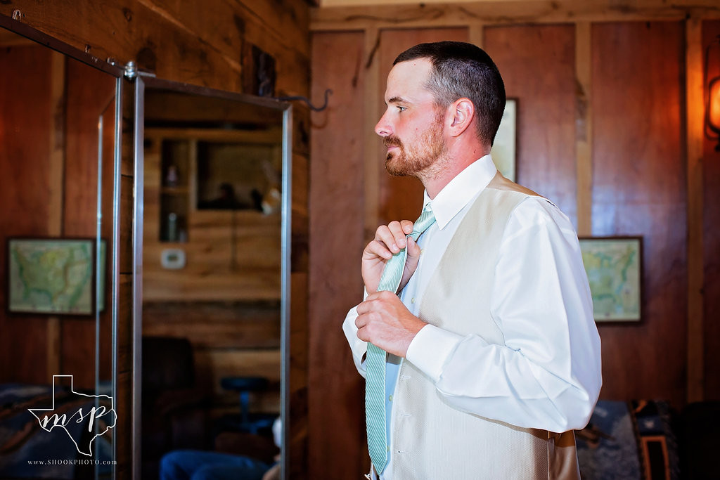 The Bunkhouse is the groom's dressing area