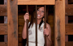 old town jail wedding photoshoot
