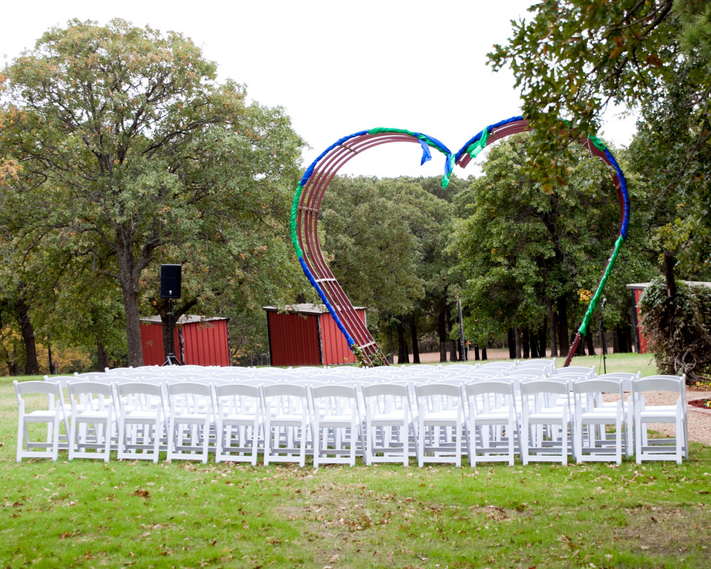 Ceremony at the Heart Arbor