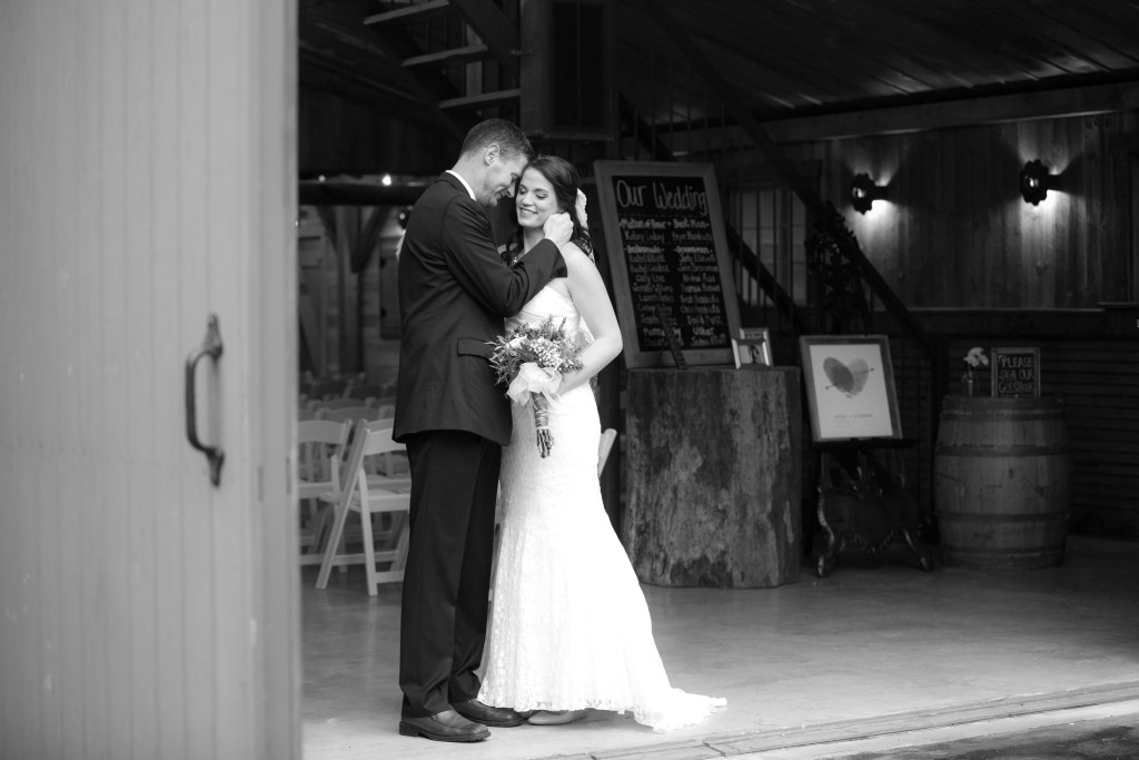 Rustic barn bridals