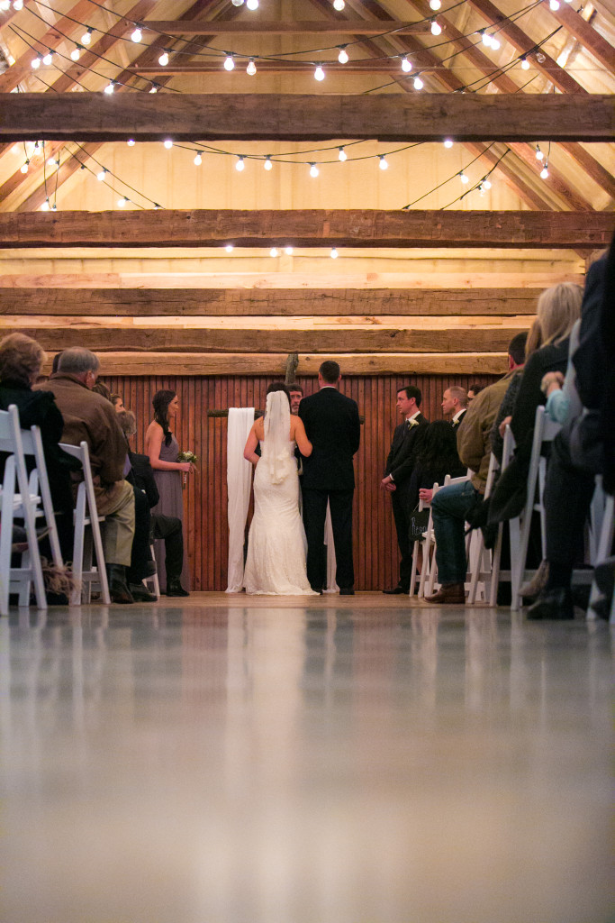fort worth wedding barn ceremony