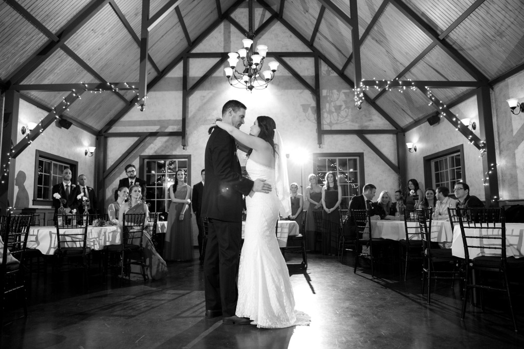 Indoor wedding reception venue in DFW