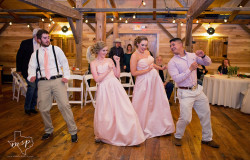 Dancing at wedding reception in DFW