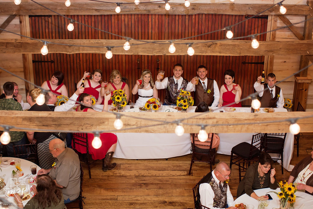 Raise your glass to this awesome barn venue