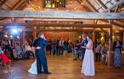 Barn Wedding Reception in Texas