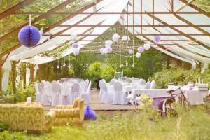 outdoor wedding venue in Benbrook