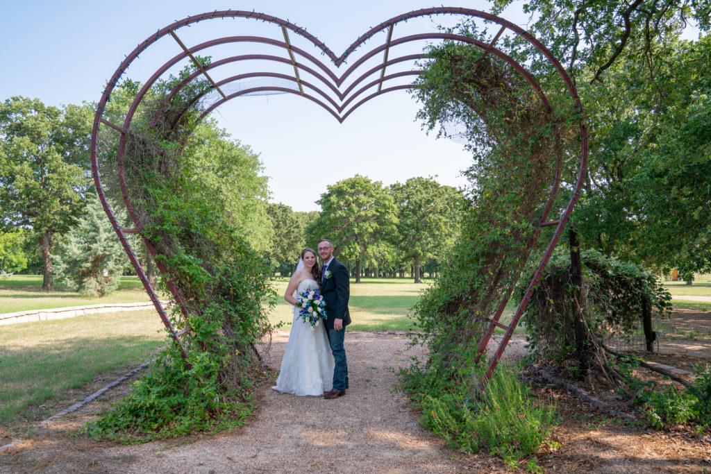 outside wedding weatherford