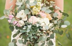 floral greenery wedding colors