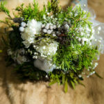 Wintewr Wedding Bouquet