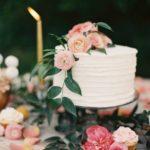 Single Layer Wedding Cake 1